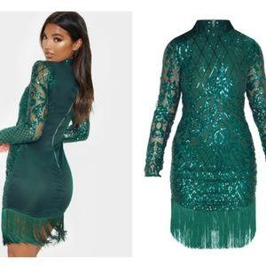 fa2b50e417 PrettyLittleThing Dresses | Color Block Sweater Dress | Poshmark
